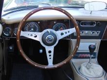 Austin Healey 3000 MK 3 Cockpit
