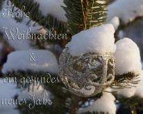 Frohe Weihnachten und gutes Neues 2017