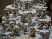 Weihnachtskarte-Engelgruppe