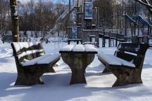 Winterruhe im Westpark