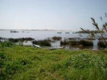 Lagune in Portugal