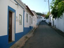 Dorfgasse in Portugal